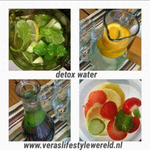 , Tips om jezelf fit te drinken met detox water en thee, Vera's Lifestyle Wereld