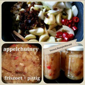 Hoe maak je appelchutney