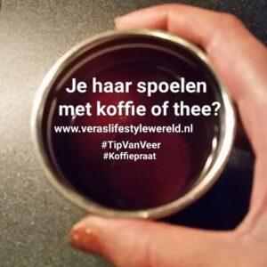 Koffiepraat Koffie En Thee Spoeling Haar 300x300, Vera's Lifestyle Wereld