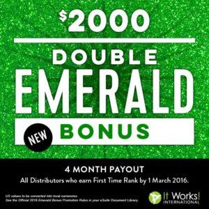 2016-2 emerald bonus