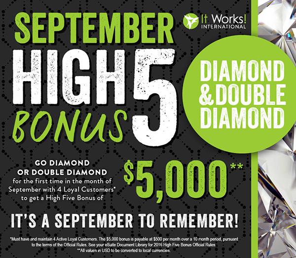 high 5 bonus