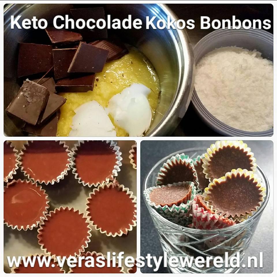 Meer dan 5 chocolade-recepten en 15 variatietips helpen jou verder met ketovriendelijke chocoladebites. Kijk voor meer lage koolhydraten en keto-recepten op Vera's Lifestyle Wereld