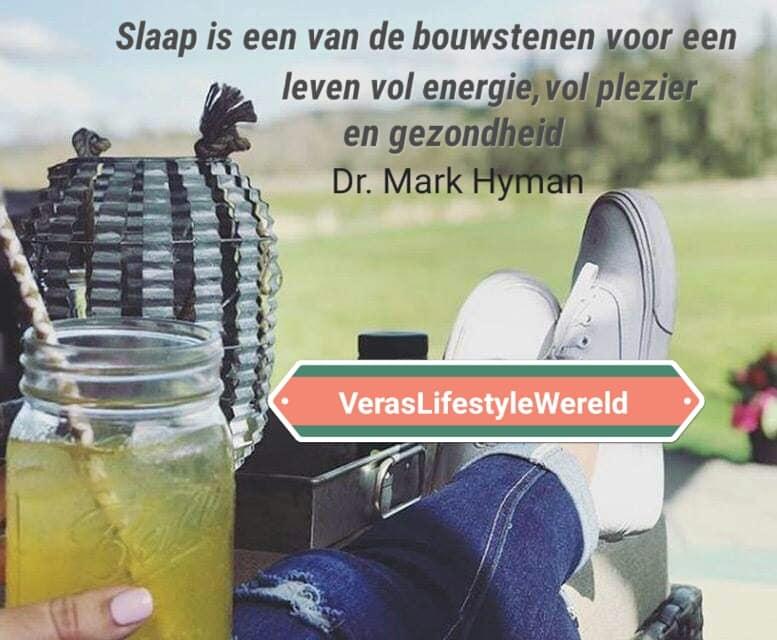 Dr. Mark Hyman - Slaap is een van de bouwstenen voor een leven vol energie, plezier en gezondheid. Meer tips voor een betere leefstijl vind jij op Vera's Lifestyle Wereld