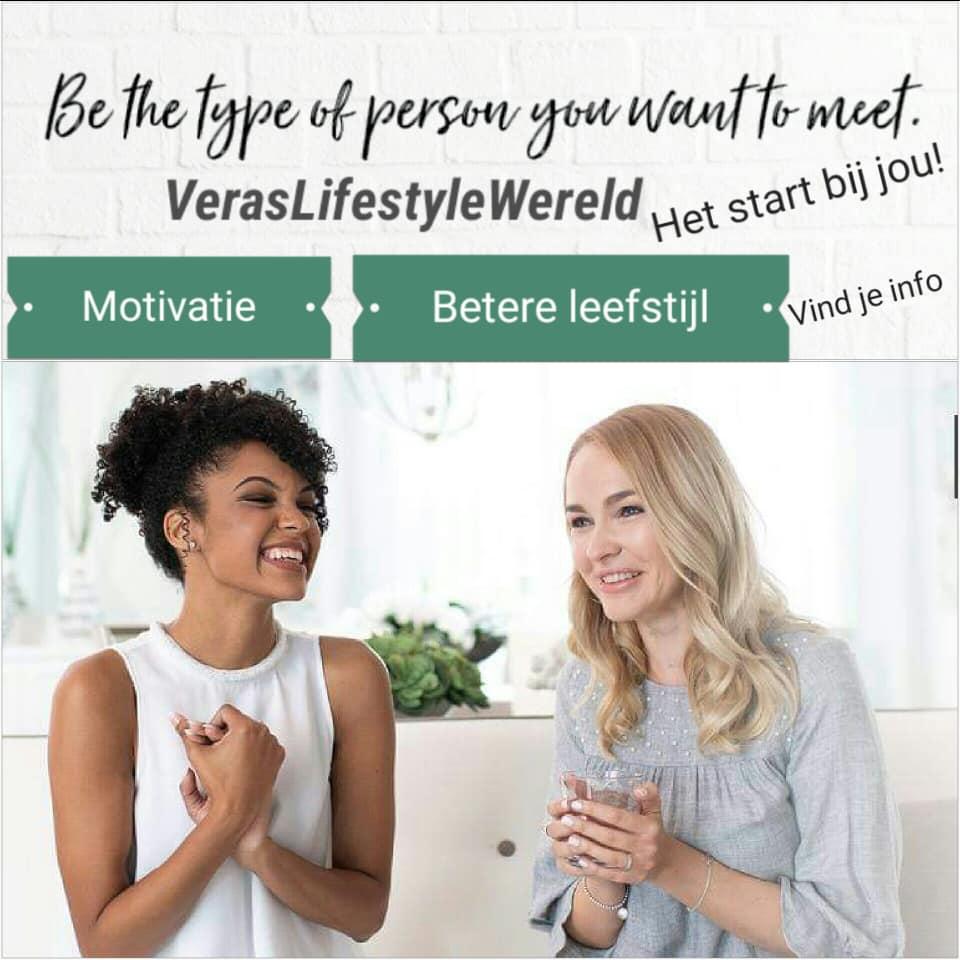 Be the type of person you want to meet. Het start bij jou! Start jouw online coaching bij Vera's Lifestyle Wereld. Versnel jouw resultaten met haar It Works combinaties.