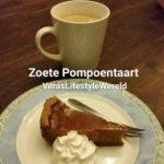 Zoete Pompoentaart is ook lekker met minder suikers en gluten!