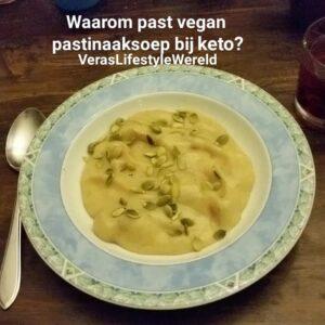 Waarom past vegan pastinaaksoep bij keto?