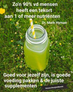 Dr Mark Hyman - 90% heeft een tekort aan 1 of meer nutrienten