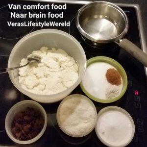 Recept Surinaamse Bojo - Van cassavetaart en comfort food naar brain food door het gebruik van minder suikers en betere vetzuren