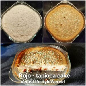 Klassiek recept voor Surinaamse bojo - tapioca cake - in 5 min staat het in de oven!