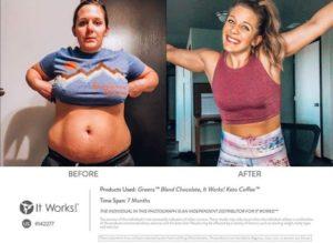 Goede voedingsstoffen + Passende training = Een blijer lijf!