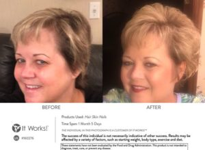 In de overgang en menopauze? Haarverlies? Sterker, voller, gezonder haar met It Works HSN kan!