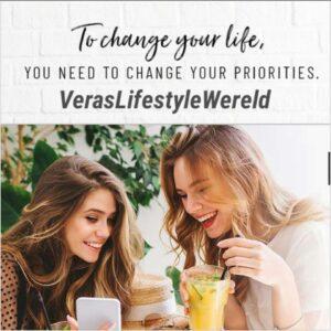 Om je leven te veranderen, dien jij je prioriteiten te veranderen