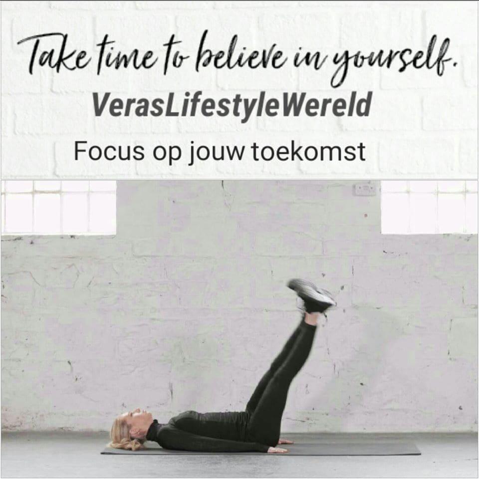 Focus op jouw toekomst. Neem de tijd om in jezelf te geloven!