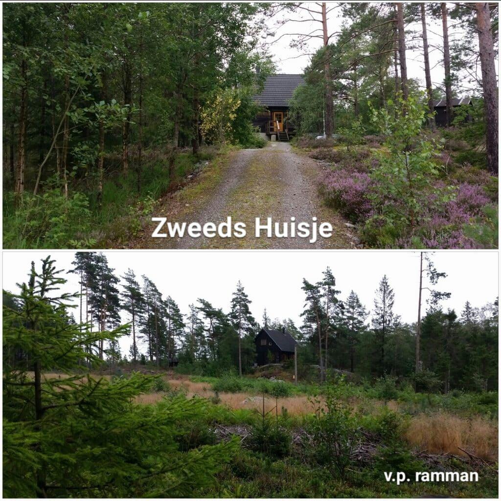 De omgeving bij het Zweeds Huisje 'Dutch Treat'  in Munkedal, Zweden