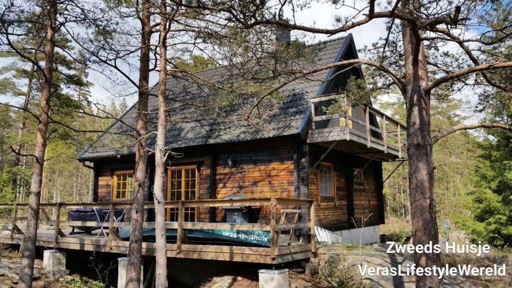 Zweeds Huisje 'Dutch Treat' in Munkedal is rustig gelegen