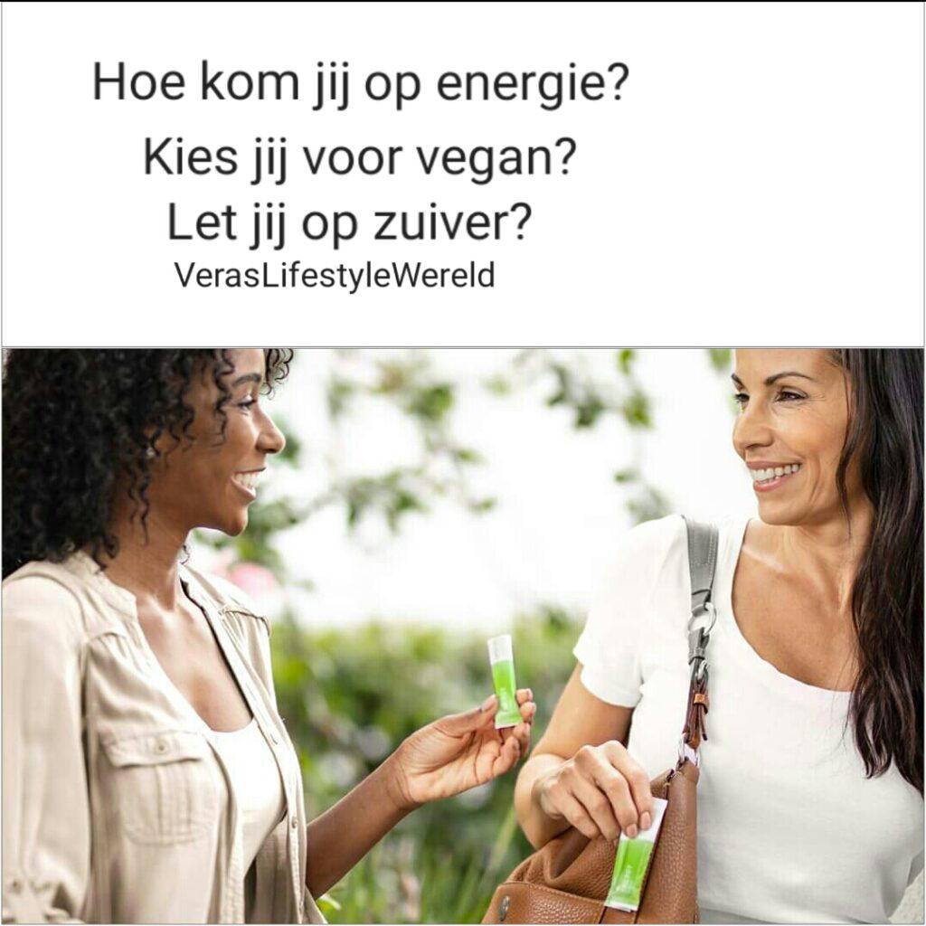 Hoe kom jij op energie? Kies jij voor vegan? Let jij op zuiver? Pak jouw info en betere recepten op Vera's Lifestyle Wereld