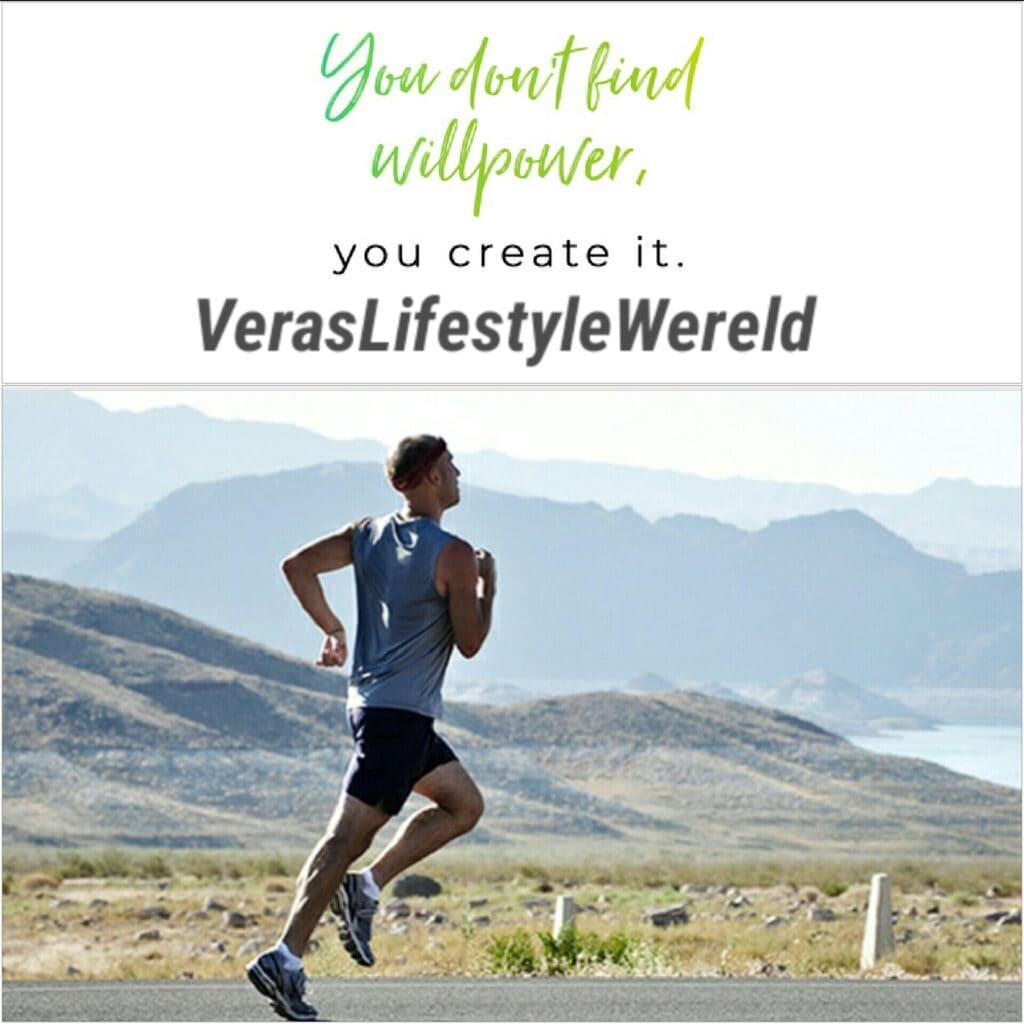 Wilskracht vind jij niet. Wilskracht creëer je! Start met die betere lichaamsverzorging. Punt.