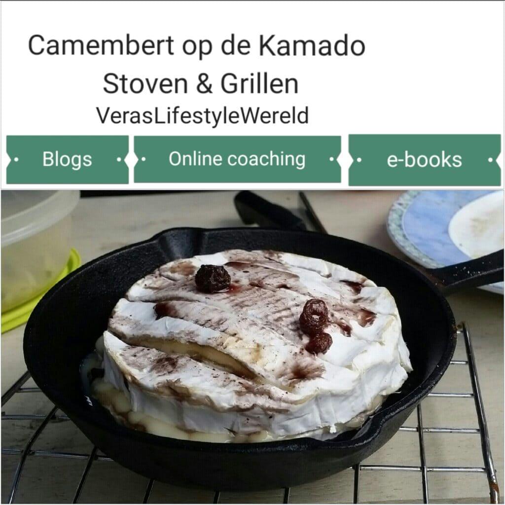 Recept Gevulde Camembert - Sudderen & grillen op de kamado binnen een ketogeen leefstijl