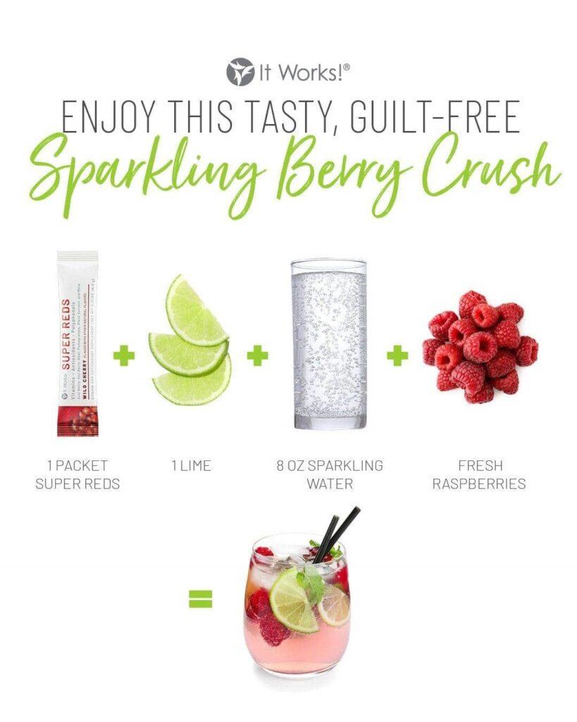 Bessen Sensatie Mocktail recept. Heerlijke smaak, goede voedingsstoffen. Wees lief voor jouw immuunsysteem