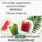 Hoe worden supplementen leuk, lekker en fris? Verwerk ze in mocktails met deze recepten op Vera's Lifestyle Wereld! Op naar succesvol beter en gezonder leven.