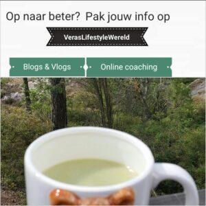 Op naar beter? Pak jouw info op Vera's Lifestyle Wereld. Online coaching, blogs en vlogs
