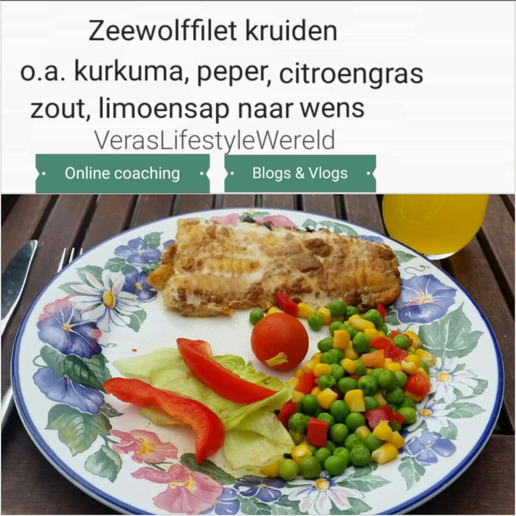 Recept Paniki Zeewolffilet - Binnen ketogeen dieet en lage koolhydratenleefstijl grillen op een buitengrill