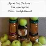 Appel Goji Chutney is een tintelend fris recept voor de smaakpapillen. Een heerlijk bijgerecht!