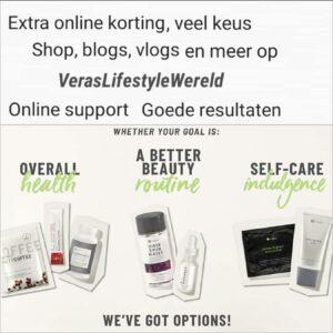 Extra online korting, online support en goede resultaten