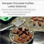 Ketogeen Chocolade Truffels - Lekker suikervrij basisrecept