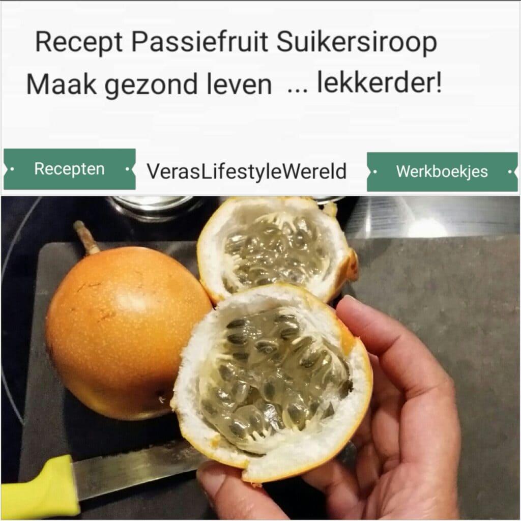 Recept Passiefruit Suikersiroop