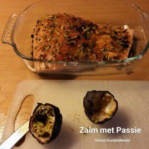 Zalm met Passie (fruit)