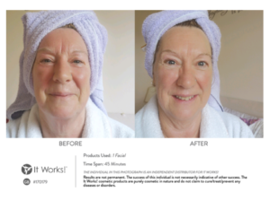 Ook bij 50+ werkt een facial applicatie!