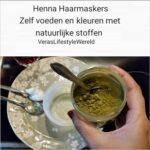 Hennahaarmaskers - Zelf voeden en kleuren met natuurlijke stoffen