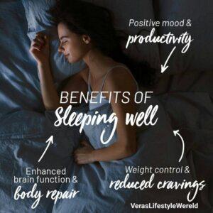 De voordelen van een goede nachtrust