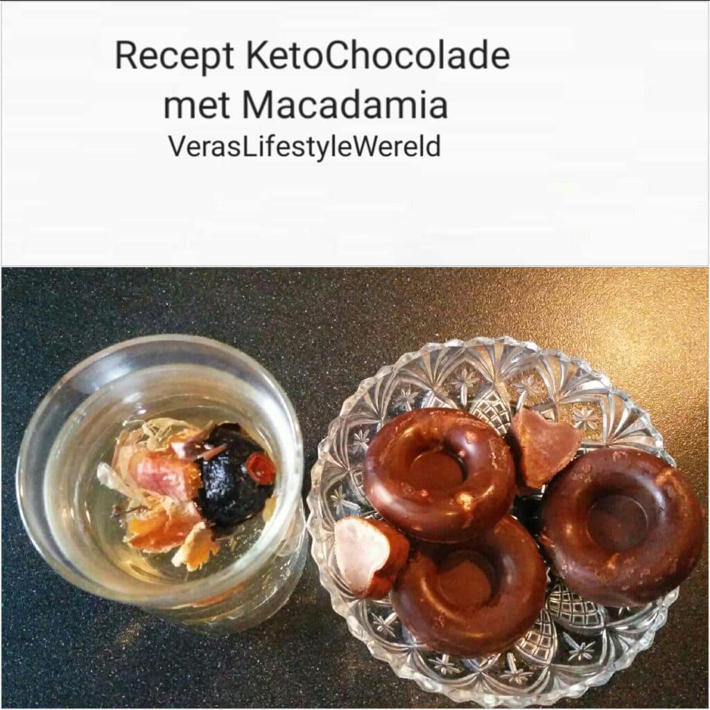 Recept Keto Chocolade met Macadamia