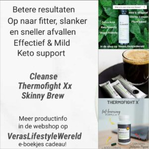 Fitter en slanker met keto support