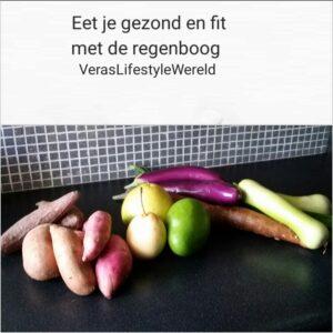 Eet je gezond en fit met de regenboog!