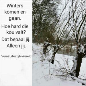 Winter komen en gaan - Jij bepaalt de kou