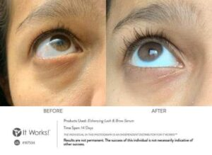 Results It Works Lash & Brow Serum