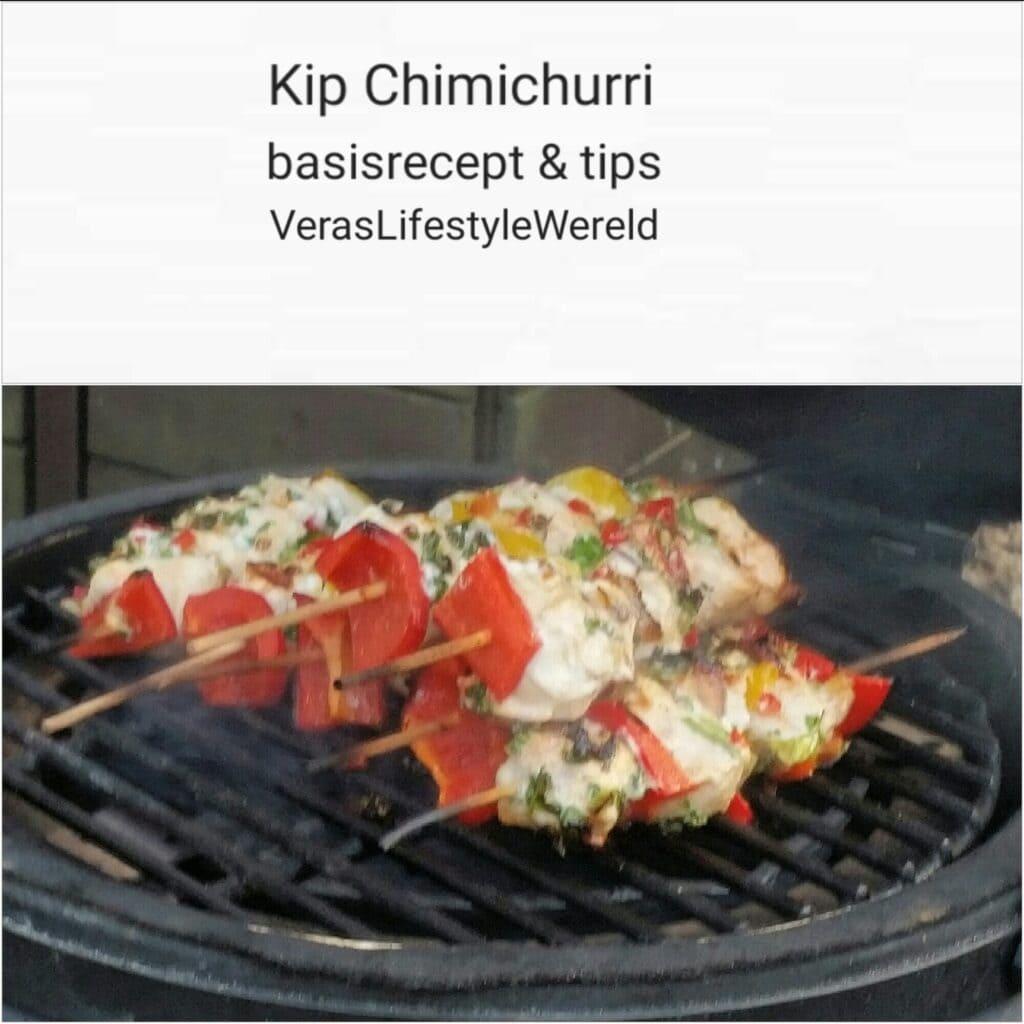 Recept Kip Chimichurri van de kamado