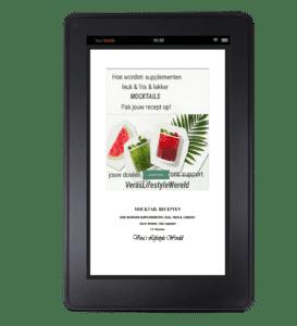 Gratis e-boek Hoe worden supplementen fris & lekker? Mocktails!
