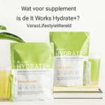 Maximaal hydrateren en de weerstand ondersteunen met Hydrate