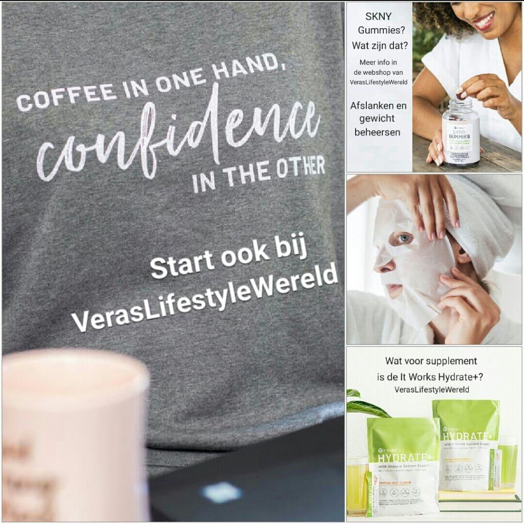 Een gezondere leefstijl met Vera's Lifestyle Wereld en It Works