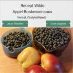 Recept wilde appel-bosbessensaus