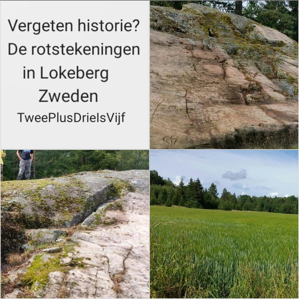 Vergeten historie? De rotstekeningen in Lokeberg, Zweden