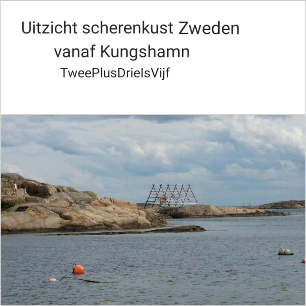 Uitzicht scherenkust Zweden vanaf Kungshamn, met dank aan TweePlusDrieIsVijf